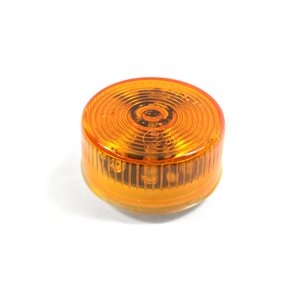 "2"" ROUND LED MARKER LIGHT, 9 DIODE, AMBER LENS"