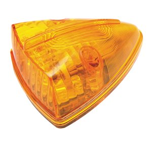 CAB MARKER LIGHT, TRIANGLE, 15 LEDS, AMBER