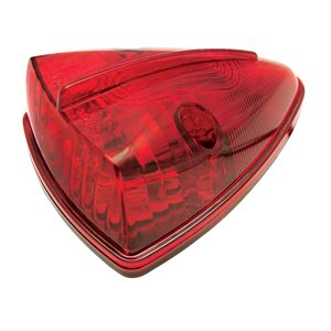 CAB MARKER LIGHT, TRIANGLE, 15 LEDS, RED
