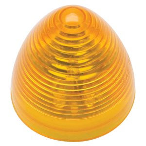 "2"" ROUND, BEEHIVE MARKER LIGHT, 9 DIODES, AMBER"