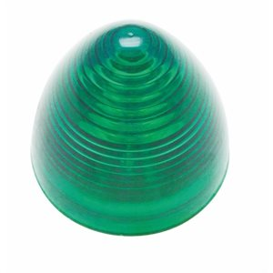 "2"" ROUND, AUXILIARY BEEHIVE LIGHT, 9 DIODES-GREEN"