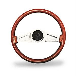 "STEERING WHEEL, 2 SPOKE, 18"","