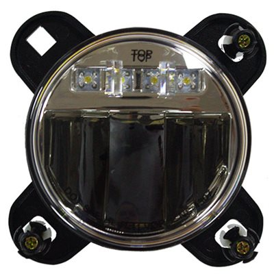 90mm LED PROJECTION HEADLIGHT, LOW BEAM, W / BRACKET & PIGTAIL