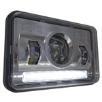 "HEADLIGHT, LED, 4x6"", LOW BEAM"