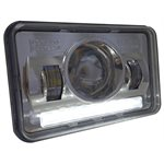 "HEADLIGHT, LED, 4x6"", HIGH BEAM"