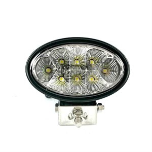 LED WORK LIGHT,OVAL - SPOT BEAM