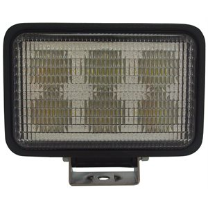 LED WORK LIGHT, 6 LED- FLOOD