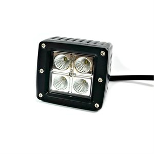 LED WORK LIGHT, 4 LED, 1020 LM- FLOOD