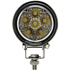 LED WORK LIGHT, 6 LED-SPOT