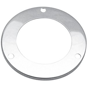 "2.5"" ROUND LIGHT BEZEL, POLISHED STAINLESS STEEL"